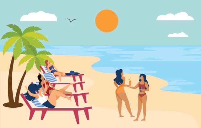 het leven op Curacao